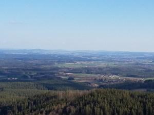 Panorama from Weißenstein Castle
