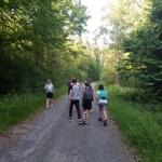 Hiking with youth