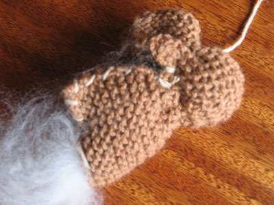Knitted Bunny tutorial - Step 6