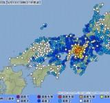 大阪府北部で、M6.1、最大震度震度6強