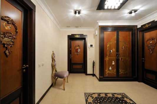 дизайн коридора в квартире фото реальные в панельном доме 2