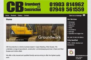 cbgroundwork Ltd screen shot