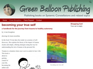 Green Balloon Publishing website