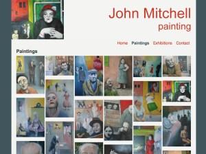 John Mitchell paintings website