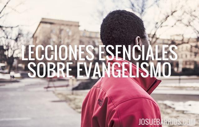 Lecciones de evangelismo