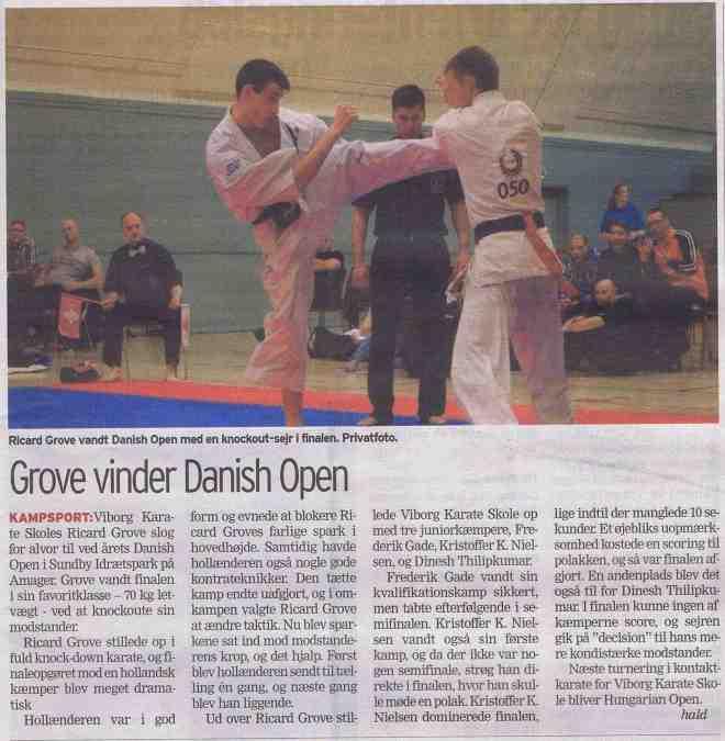 Grove-vinder-Danish-Open