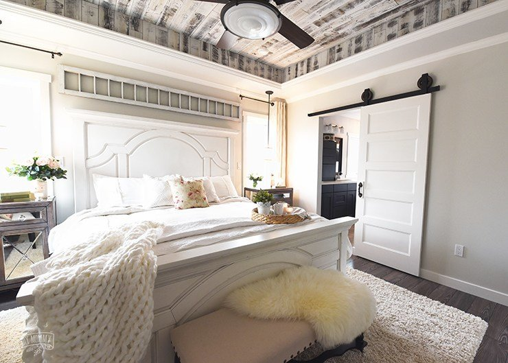 Best Our Modern French Country Master Bedroom One Room Challenge Reveal The Diy Mommy With Pictures