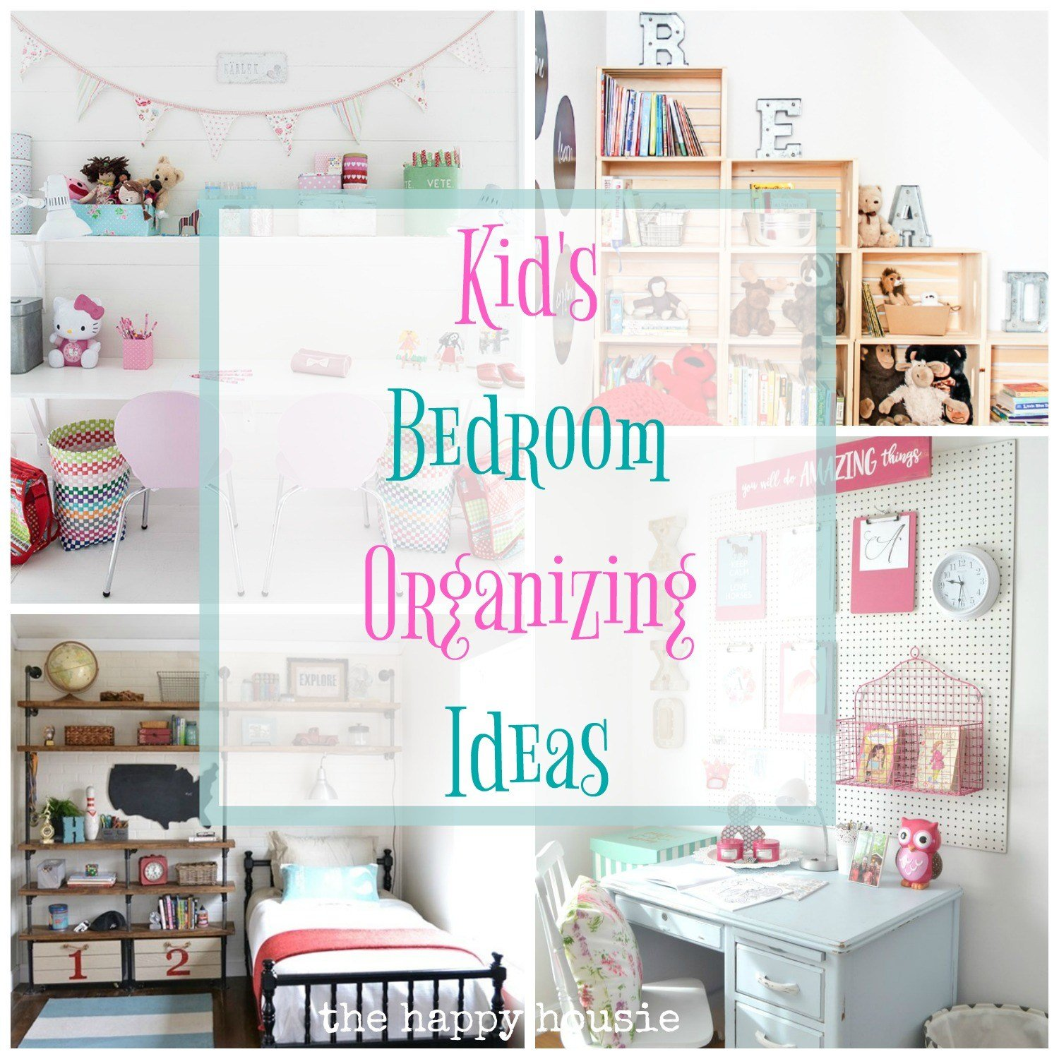 Best Fantastic Ideas For Organizing Kid S Bedrooms The Happy Housie With Pictures