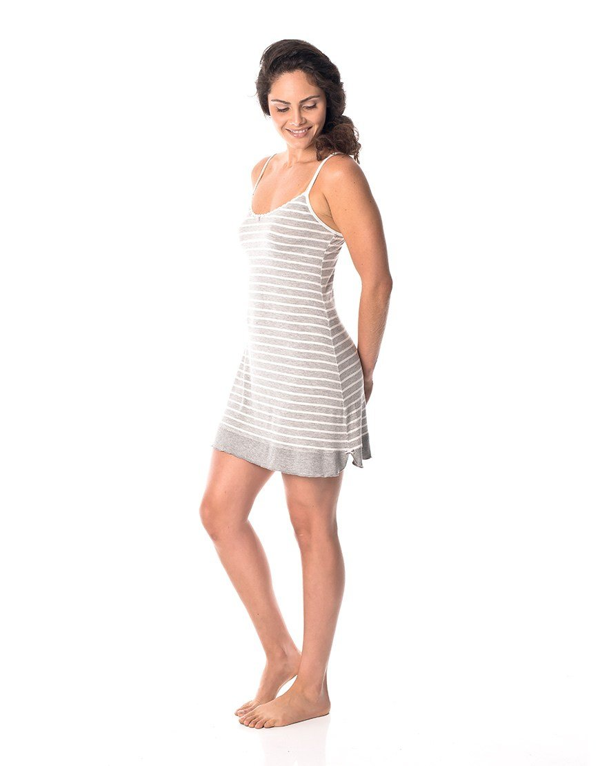 Best Sweet Stripe Nightie – The Sleep Collective Shop With Pictures