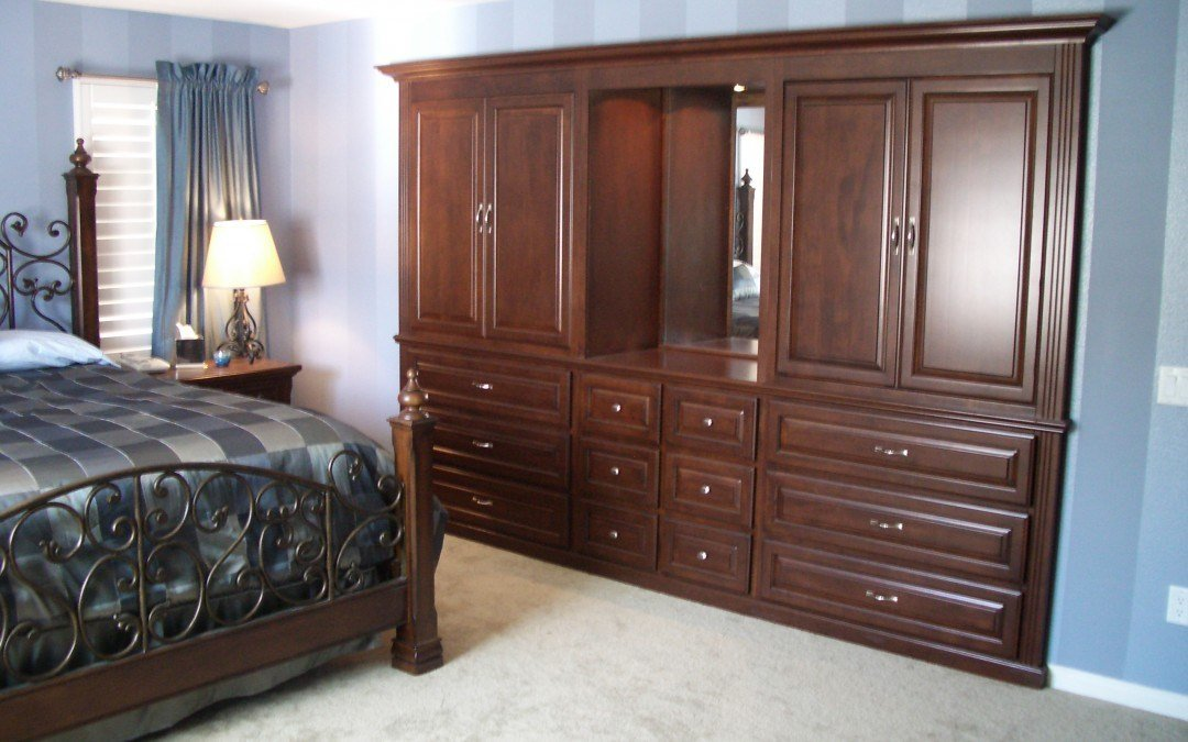 Best Bedroom Wall Unit Woodwork Creations With Pictures
