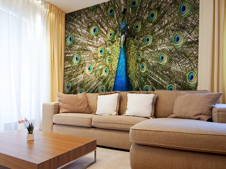 Best Decorating Living Room With Peacock Home Decor With Pictures