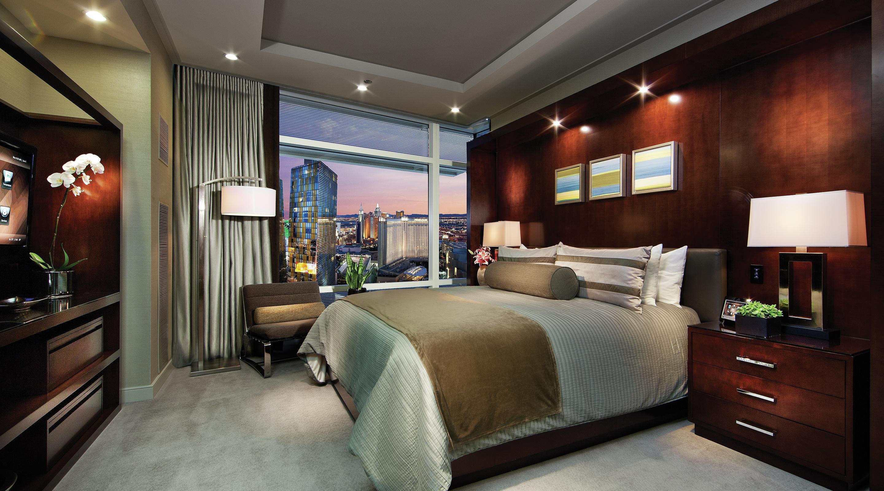 Best Two Bedroom P*Nth**S* Suite Aria Las Vegas Mgm Resorts With Pictures