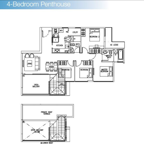 Best Condo Singapore – The Skywoods – 4 Bedroom P*Nth**S* – New With Pictures