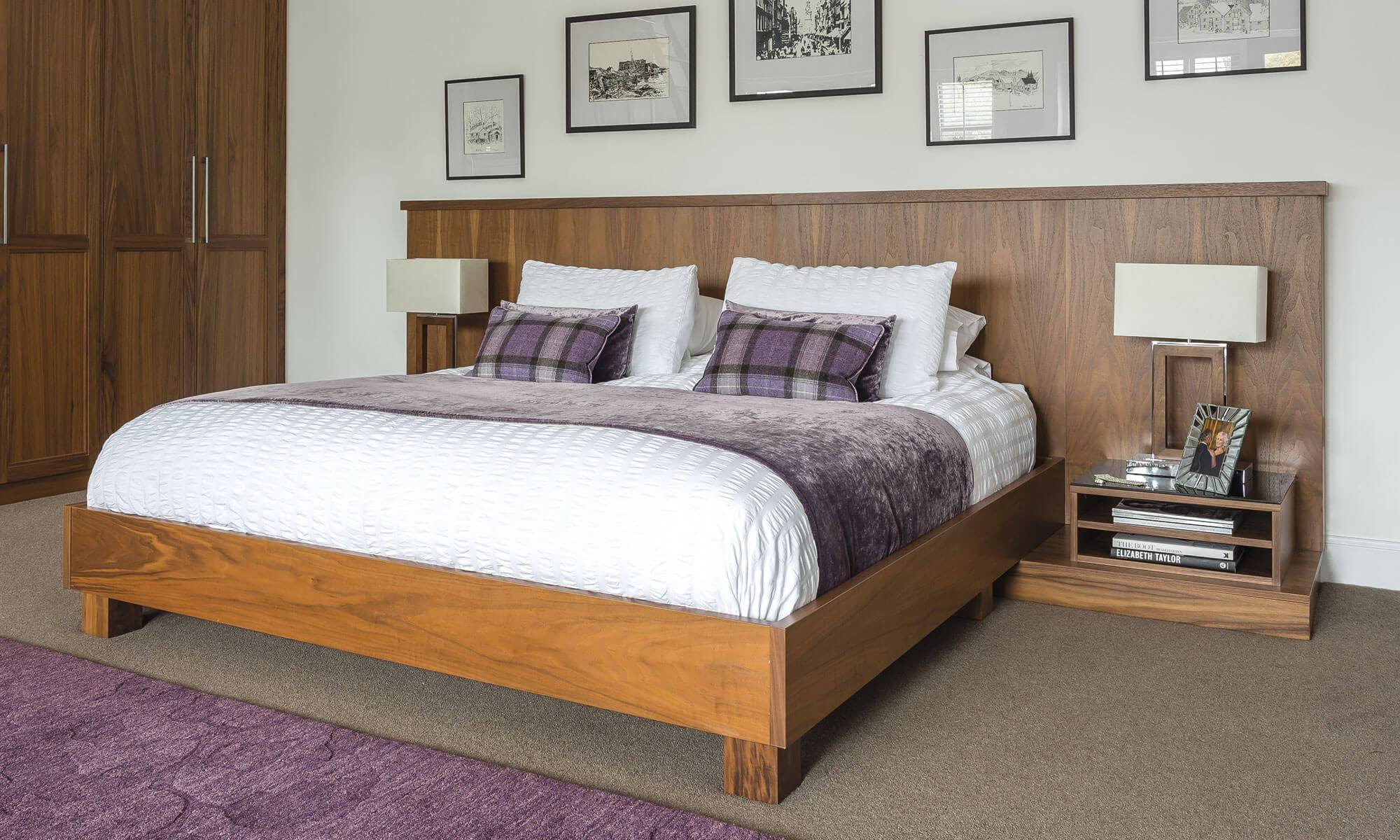 Best Beautiful Walnut Bedroom Furniture Neville Johnson With Pictures