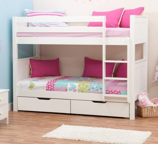 Best Classic Bunk Bed With Underbed Drawers By Stompa With Pictures