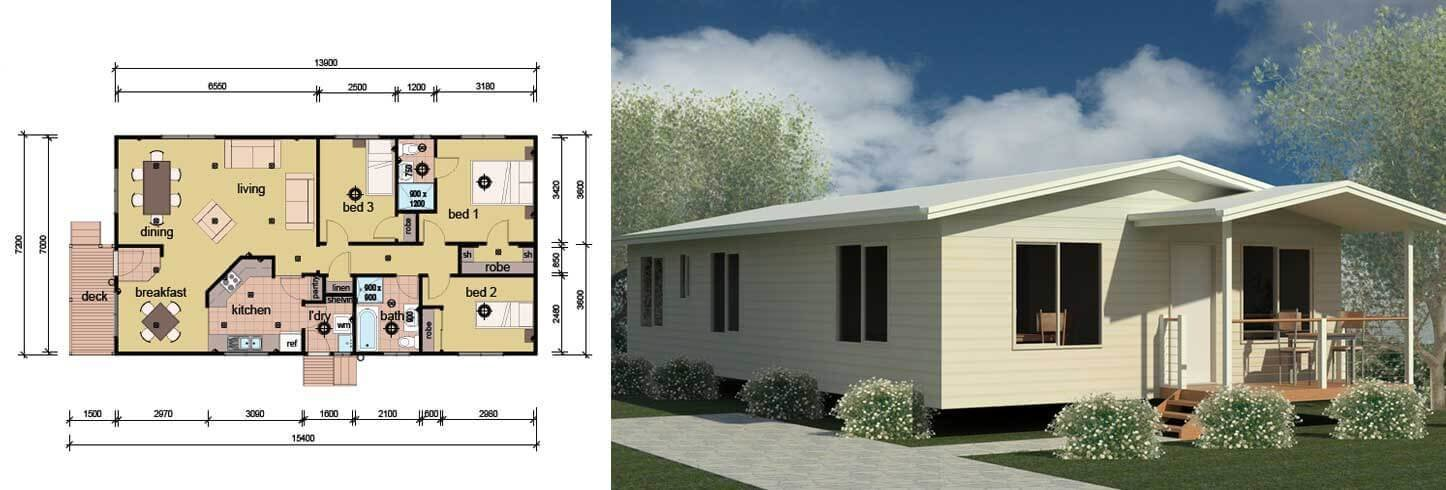 Best The Patterson 3 Bedroom 2 Bathroom Modular Home Parkwood With Pictures