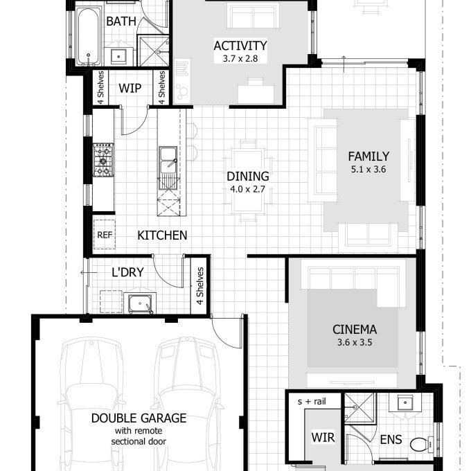 Best 31 Rectangular Floor Plans For Small Homes Small With Pictures