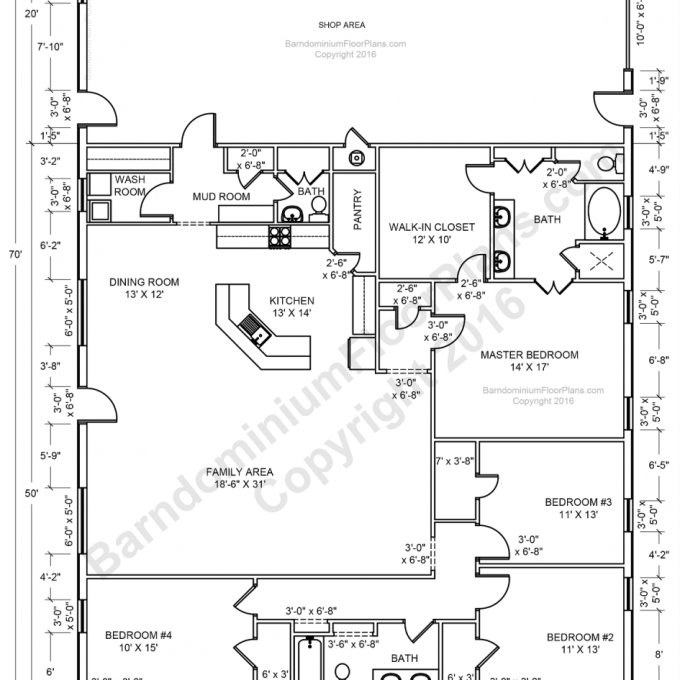 Best Ideas About Open Floor Plans Also 4 Bedroom Plan With Pictures