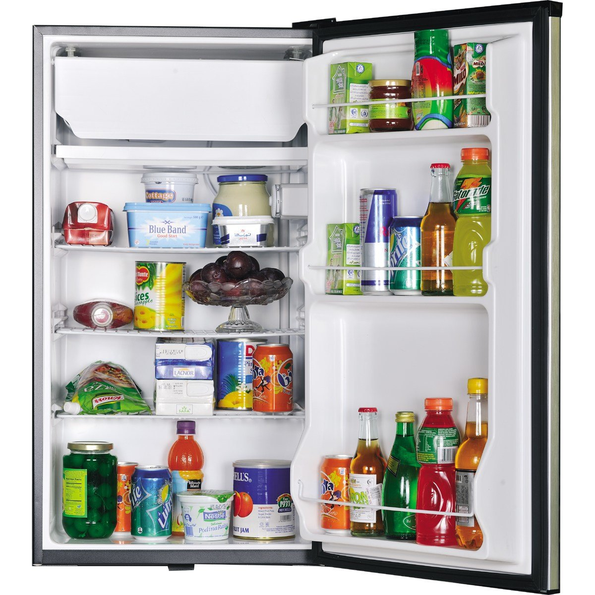Best Haier Bedroom Fridge Hr 136Bss Alfatah Electronics With Pictures