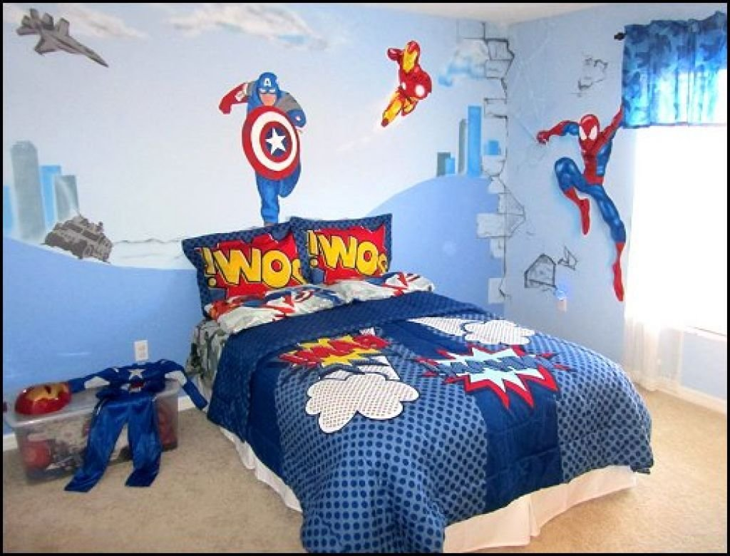 Best 20 Best Superhero Bedroom Theme For Your Children With Pictures