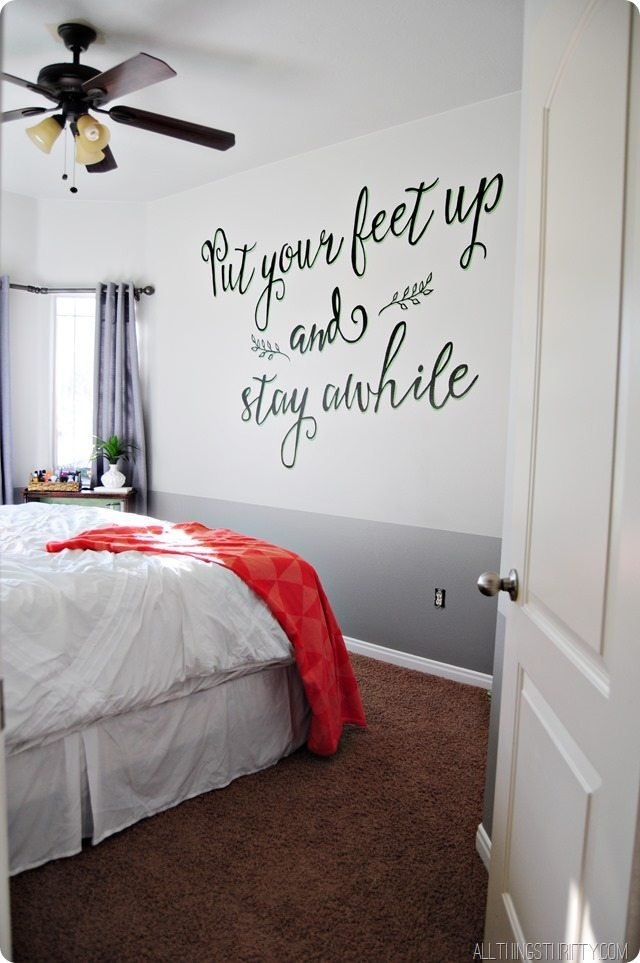 Best Guest Room Update All Things Thrifty With Pictures