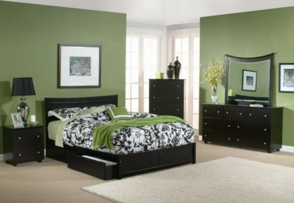 Best Choosing Green Bedroom To Refresh Your Minds Q House With Pictures