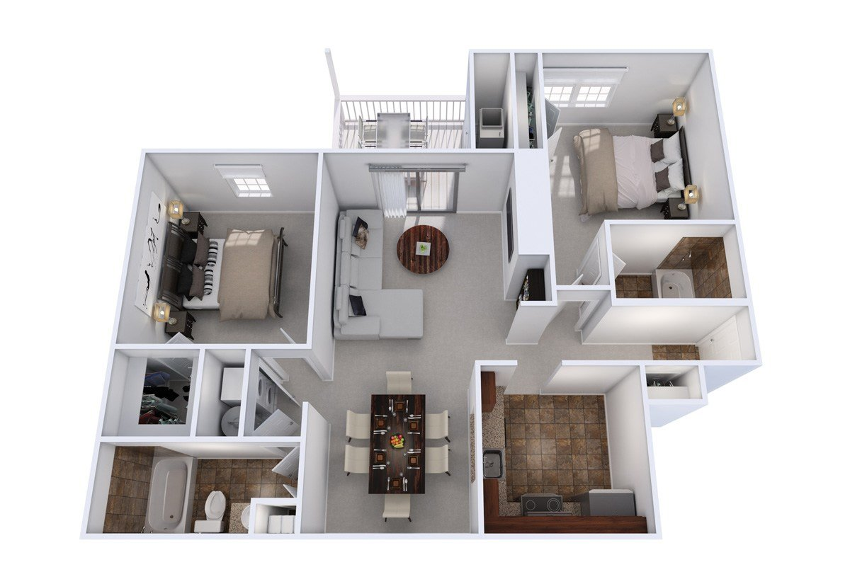 Best 2 Bedroom 2 Full Bath Apartments In Laurel Md With Pictures