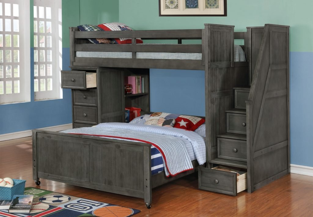 Best Introducing Weathered Grey Kids Bedroom Furniture With Pictures