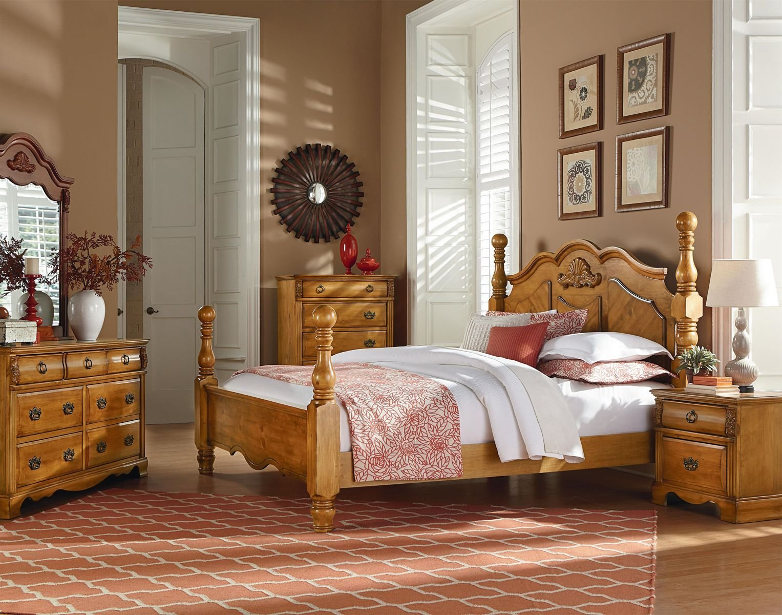 Best Standard Furniture Georgetown Poster Bedroom Set In In With Pictures