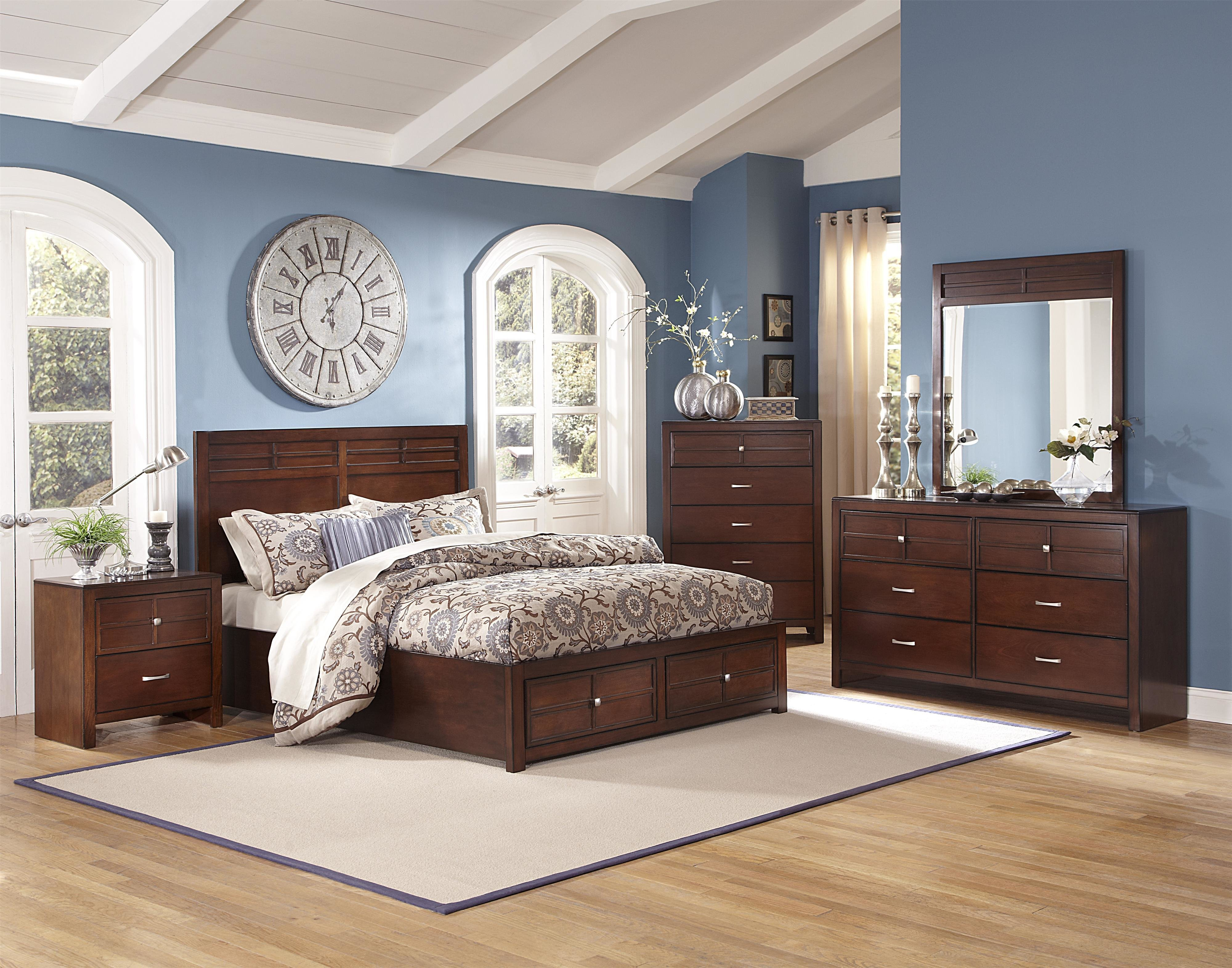Best New Classic Kensington 4 Pc Panel Storage Bedroom Set In With Pictures