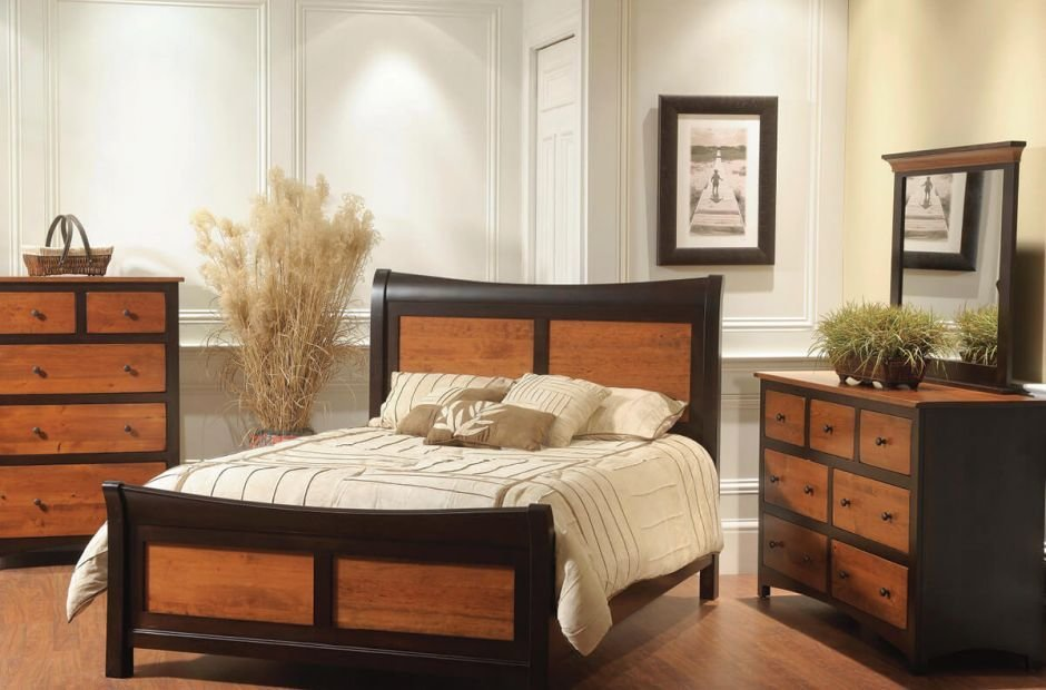 Best Manchester Shaker Style Bedroom Set Countryside Amish With Pictures