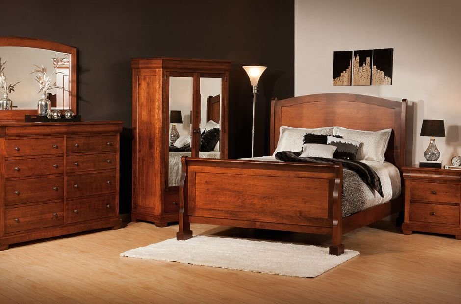 Best Amelie Handmade Bedroom Set Countryside Amish Furniture With Pictures