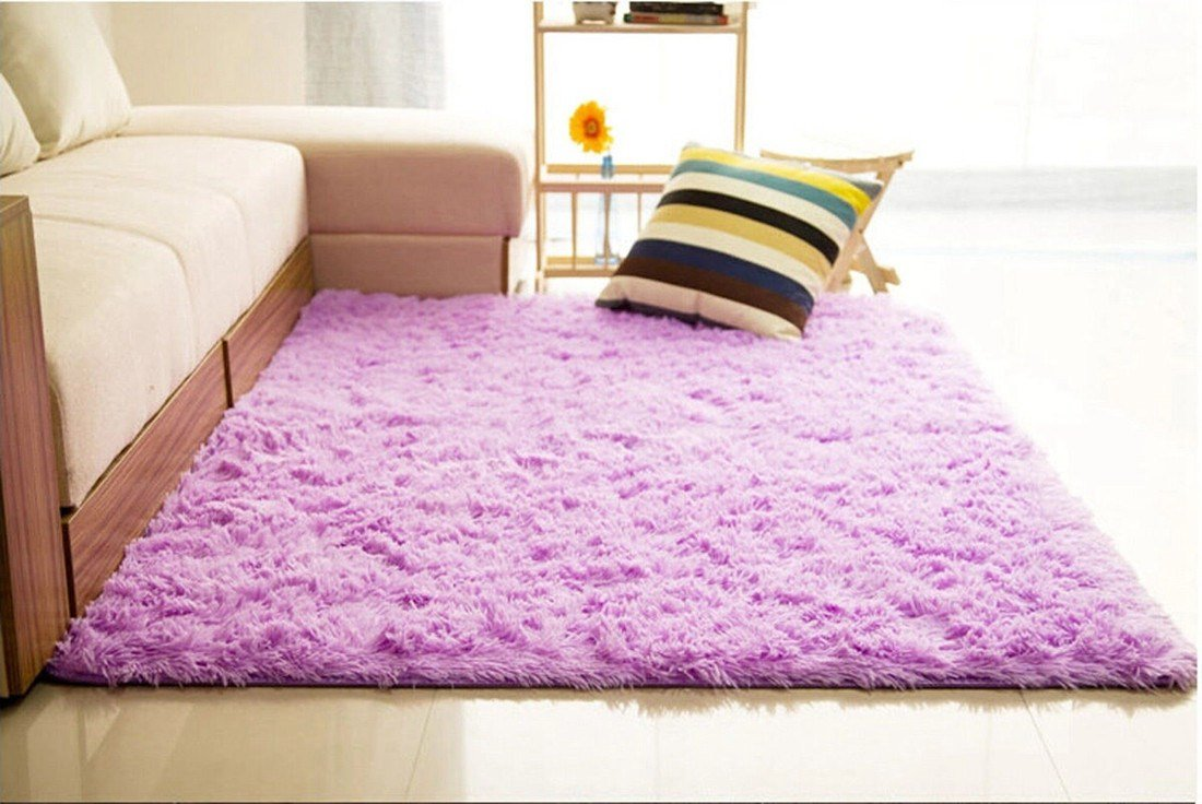 Best 160 90Cm Fluffy Soft Anti Slip Shaggy Rug Dining Room With Pictures