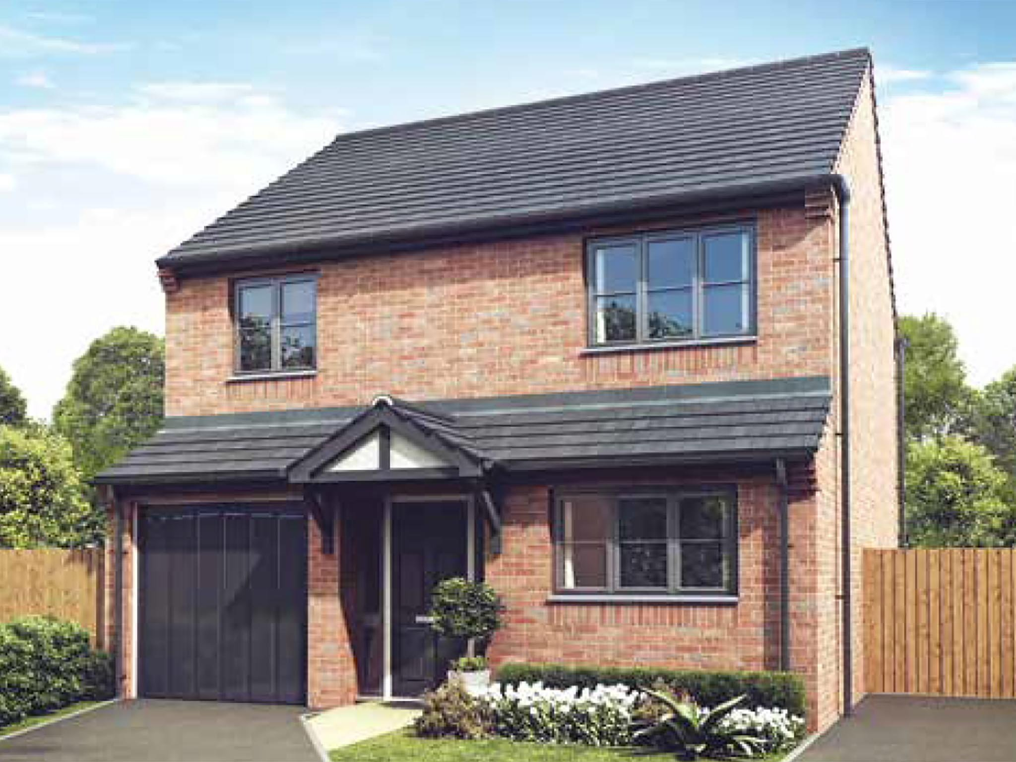 Best 4 Bedroom Detached House For Sale In Telford Shropshire Tf4 2Gf Plot 328 With Pictures