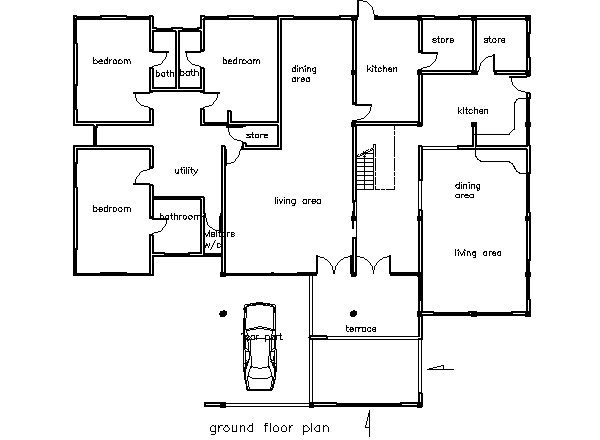 Best House Plans Ghana Sunya 5 Bedroom Building Plan In Ghana With Pictures