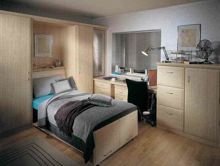 Best Study Bedrooms Fitted Home Office Bedroom Combinations With Pictures