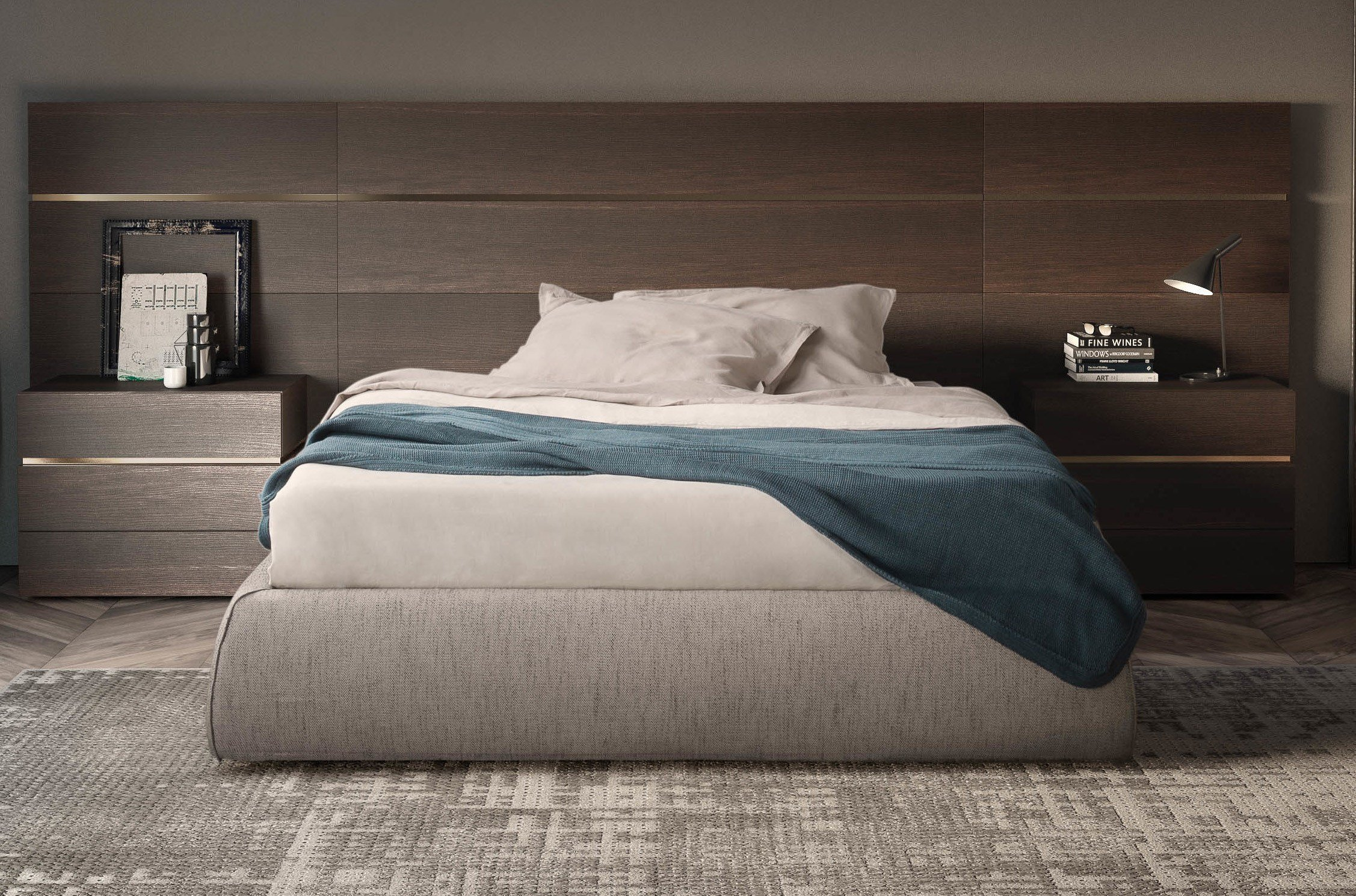 Best Modern Headboards Designer Bed Wall Panels Campbell Watson Uk With Pictures