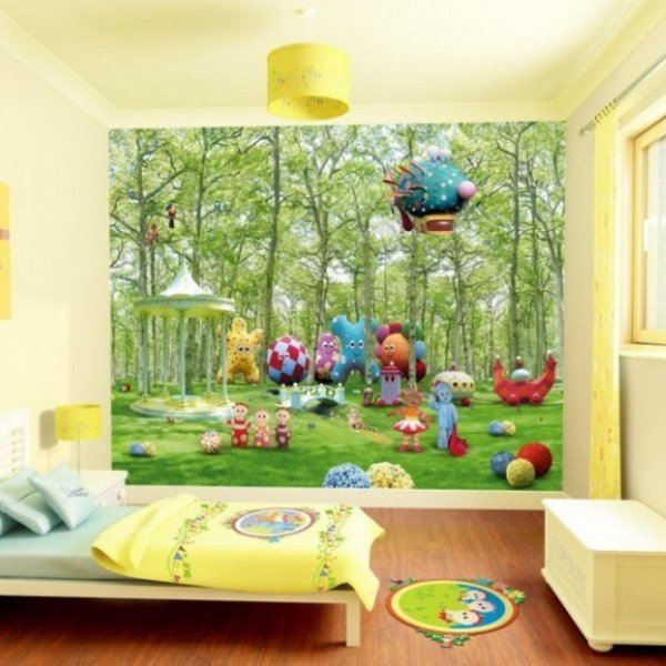 Best 18 Colorful Wall Murals For Children S Room With Pictures