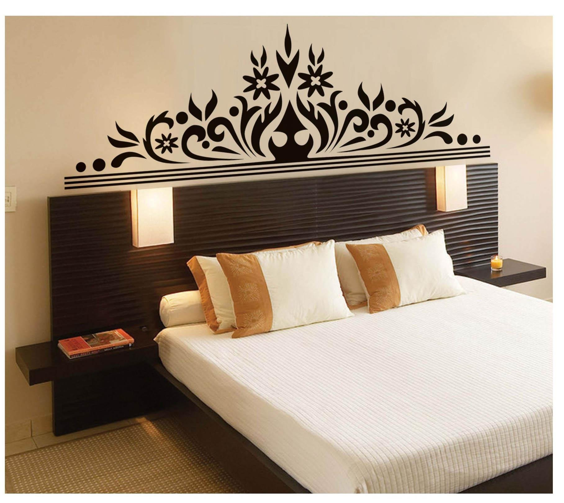 Best Bedroom Wall Art Decal Sticker Headboard Wall Decoration With Pictures