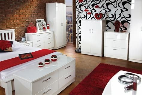 Best Mayfair High Gloss Bedroom Furniture With Uk Delivery By With Pictures