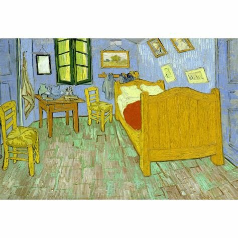Best Vincents Bedroom Van Gogh Canvas Print Wall Art With Pictures