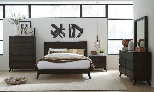 Best Modus Furniture Tahoe Live Edge Queen Bedroom Set The With Pictures