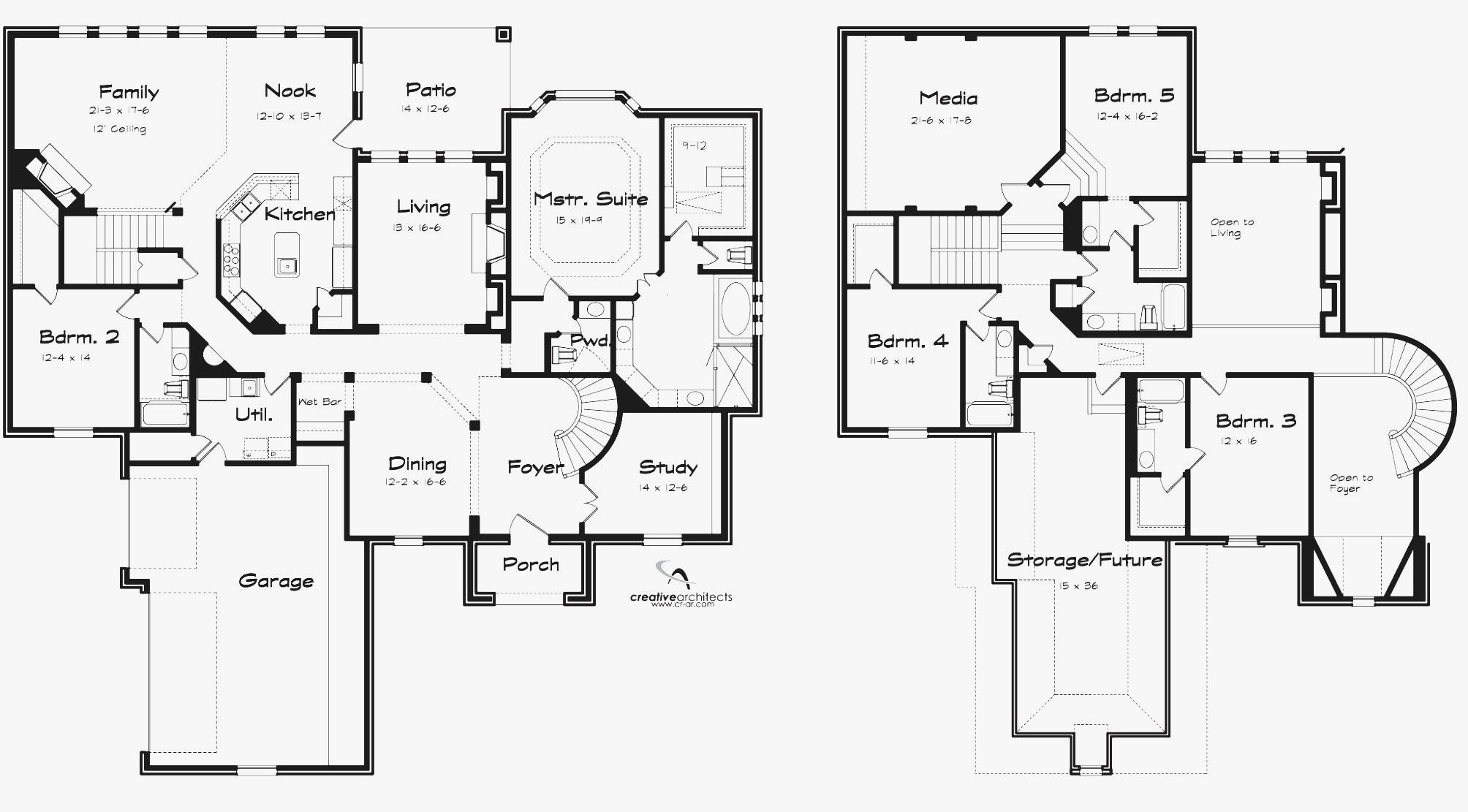 Best Bungalow House Plans With 5 Bedrooms With Pictures