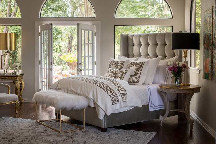 Best Buy Lili Alessandra Laurie And Guy Gold Embroidery Bedding Collection With Pictures