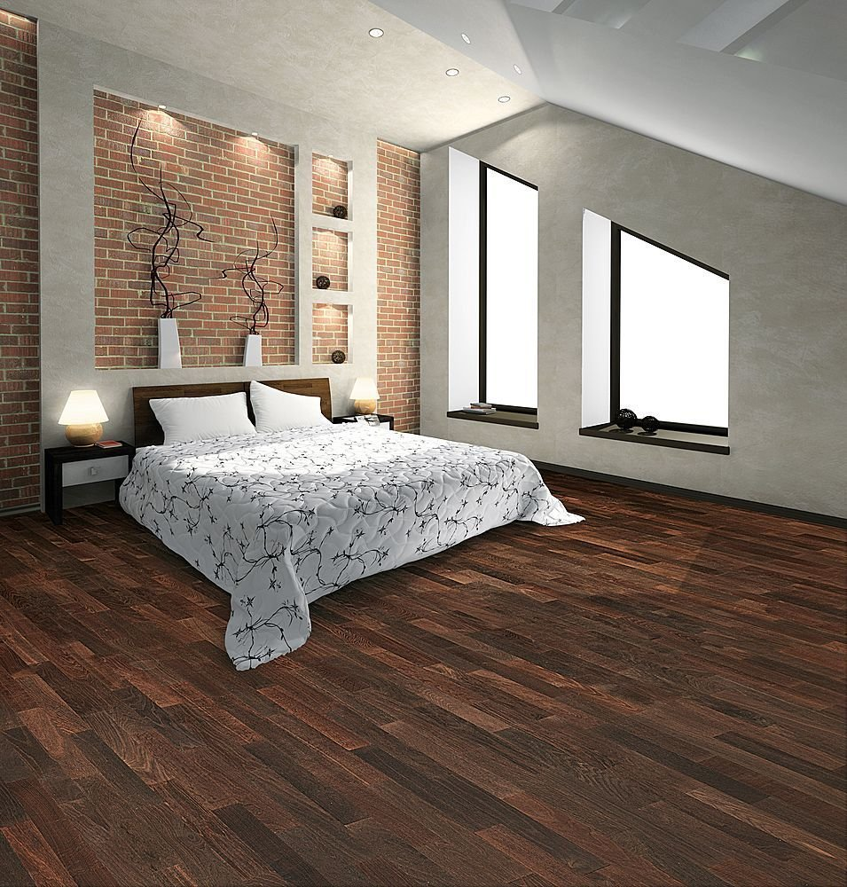 Best Hardwood Laminate Flooring Enhancing Combined Room With Pictures