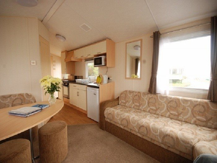 Best 2 Bedroom Static Caravan For Hire At Sunnybrae Caravan Park With Pictures