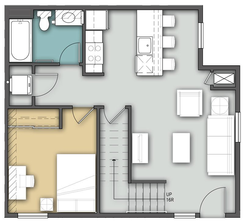 Best Bison Run 3 Bedroom 2 Story Residence Life Dining With Pictures