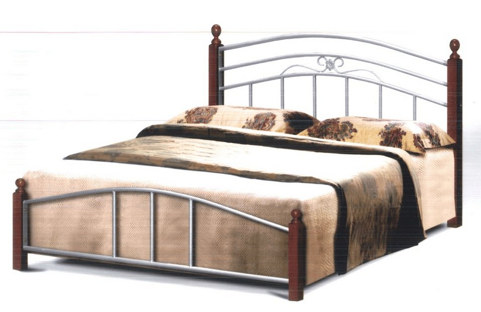 Best Bishop Bed Frame In Queen Size Silver Metal Bed Frames With Pictures