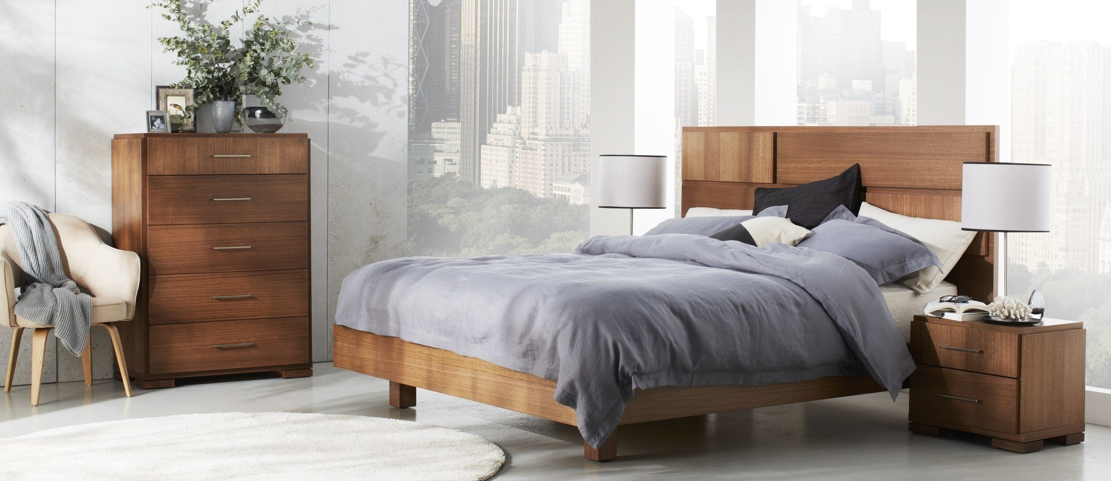 Best Vancouver Bed Drawer Foot Storage Bedroom Furniture With Pictures