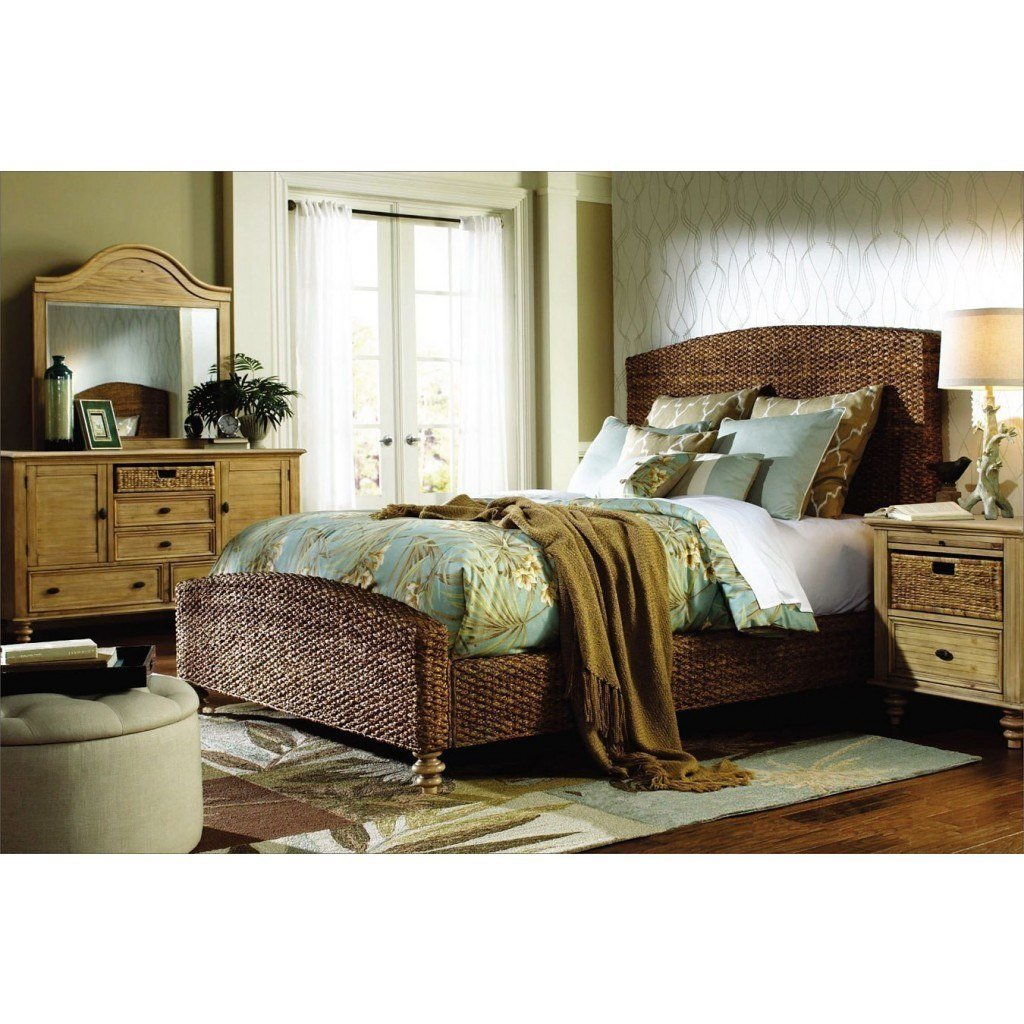 Best Hampton Bedroom Set W Seagrass Bed Cottage Creek Furniture Furniture Cart With Pictures